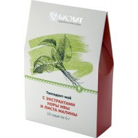 Токсидонт-май с экстрактами коры ивы и листа малины