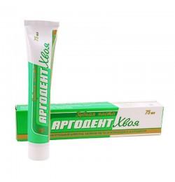 Паста зубная Аргодент Хвоя